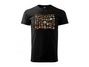 pánské tričko vyznamenání za zásluhy a statečnost
