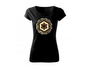kruhová secese dámské tričko