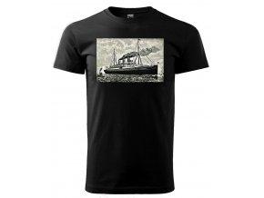 parník pánské tričko