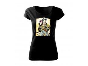 štěstí dámské tričko