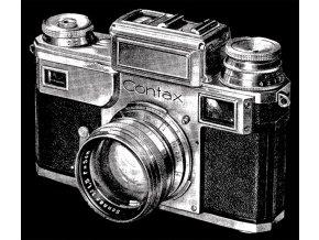 Fotoaparát Contax (Pánské/Dámské Dámské černé, Velikost XXL)