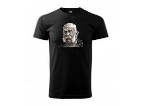 pánské tričko s obrázkem císaře Františka Josefa I