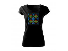 dekor dámské tričko