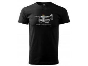 tričko pro muzikanta retro pánské