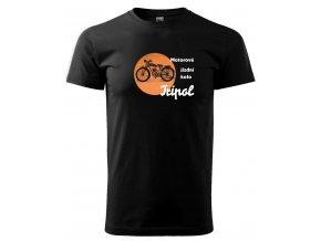 pánské tričko motorka tripol