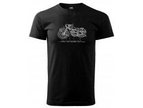 motocykl Jawa 250 tričko