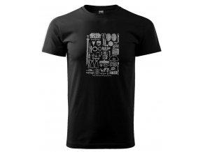 archeolog pánské tričko s potiskem