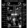 Elektrické zařízení moderního automobilu - tričko s potiskem (Pánské/Dámské Dámské černé, Velikost XXL)
