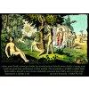 Adam a Eva - tričko s potiskem. Dobrý dárek pro Adama i Evu