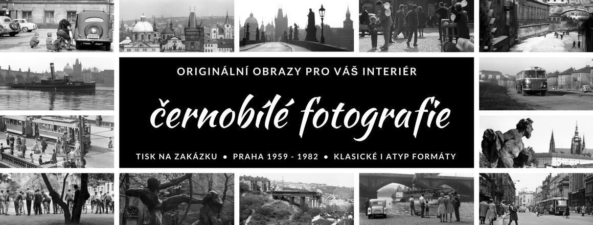 Originální černobílé fotoobrazy
