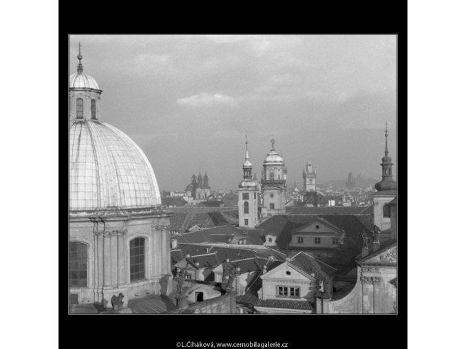 Praha stověžatá... (42-5), Praha 1958 , černobílý obraz, stará fotografie, prodej