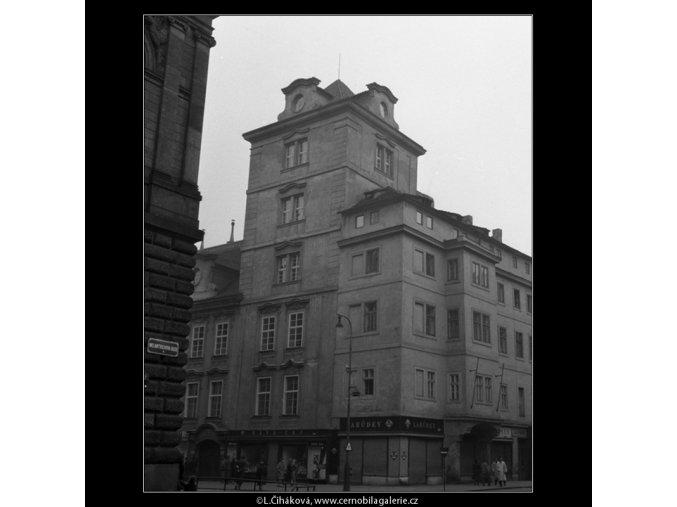 Pohled na Havelskou bránu (61), Praha 1958 , černobílý obraz, stará fotografie, prodej
