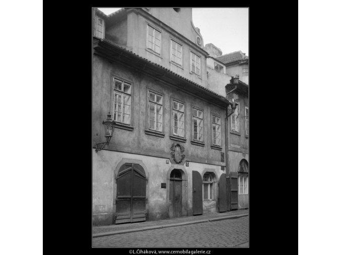 Rodný dům E.Vojana (571-2), Praha 1958 , černobílý obraz, stará fotografie, prodej