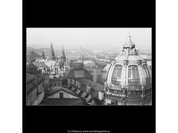 Z Prašné brány (46-1), Praha 1959 , černobílý obraz, stará fotografie, prodej