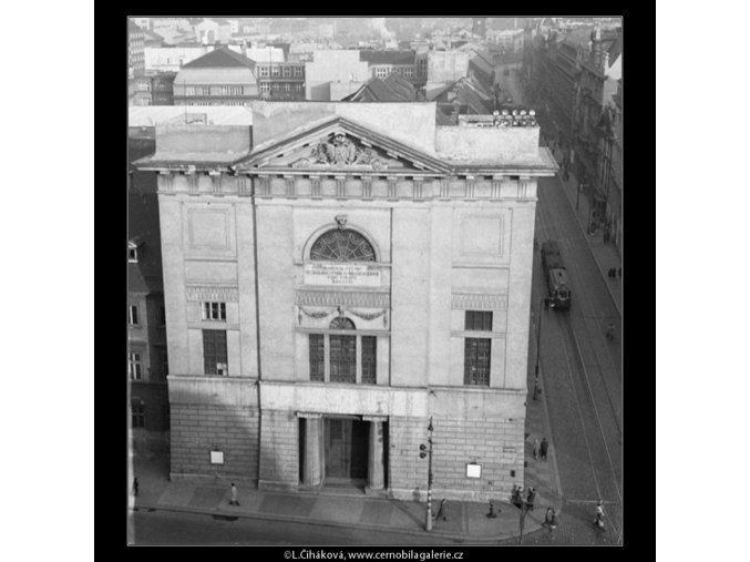 Dům u Hybernů (46-2), Praha 1959 , černobílý obraz, stará fotografie, prodej