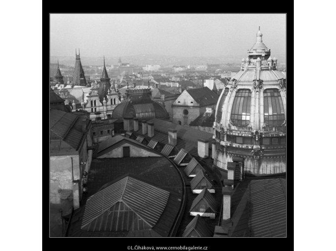 Z Prašné brány (46-3), Praha 1959 , černobílý obraz, stará fotografie, prodej