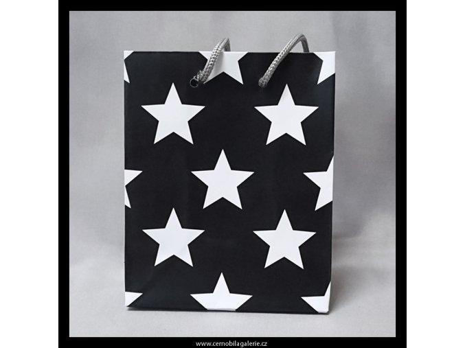Taška d. Hvězdičky v černé S