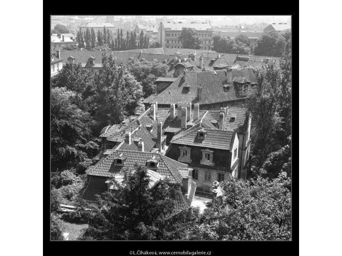 Malá Fürstenberská zahrada (165-2), Praha 1959 červen, černobílý obraz, stará fotografie, prodej