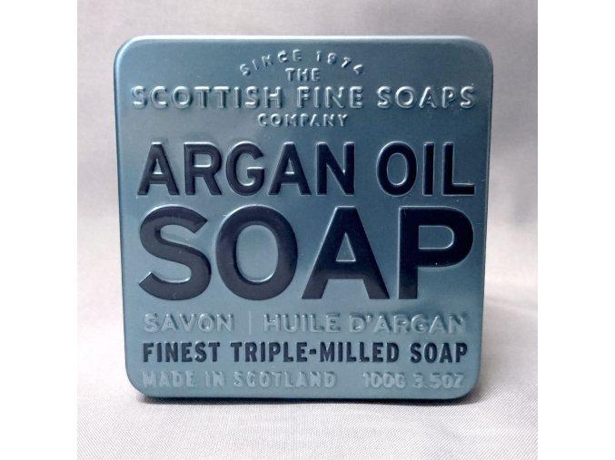 700353 I Mýdlo v plechu - Arganový olej
