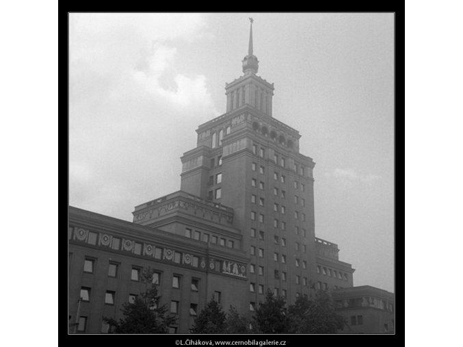 Hotel Internacionál (211), Praha 1959 červenec, černobílý obraz, stará fotografie, prodej