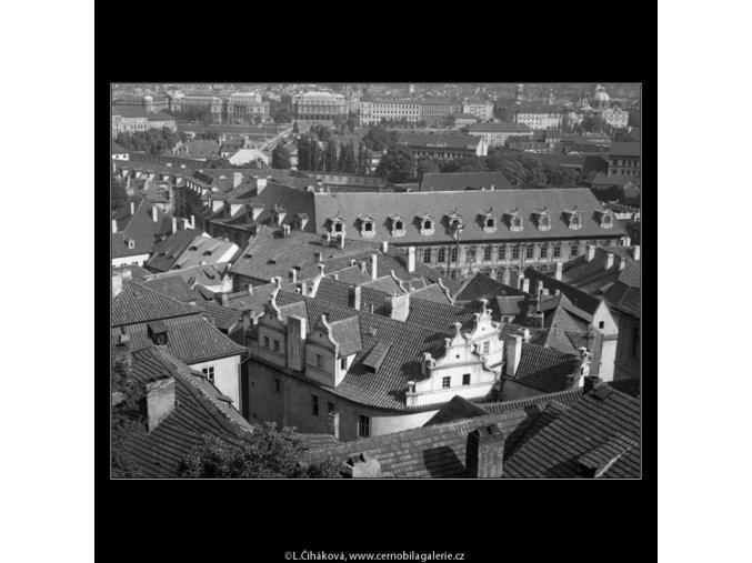 Pohled na Prahu (266-1), Praha 1959 , černobílý obraz, stará fotografie, prodej