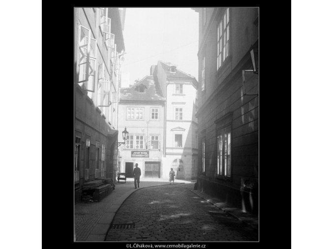 Prokopská ulice (280), Praha 1959 červenec, černobílý obraz, stará fotografie, prodej