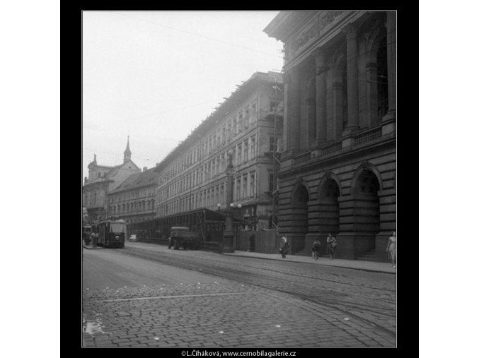 Chourovy domy (393-2), Praha 1959 , černobílý obraz, stará fotografie, prodej