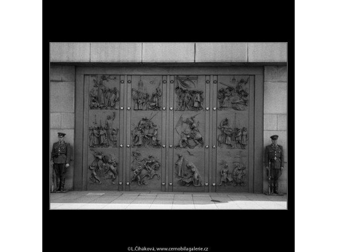 Národní památník (464), Praha 1959 , černobílý obraz, stará fotografie, prodej