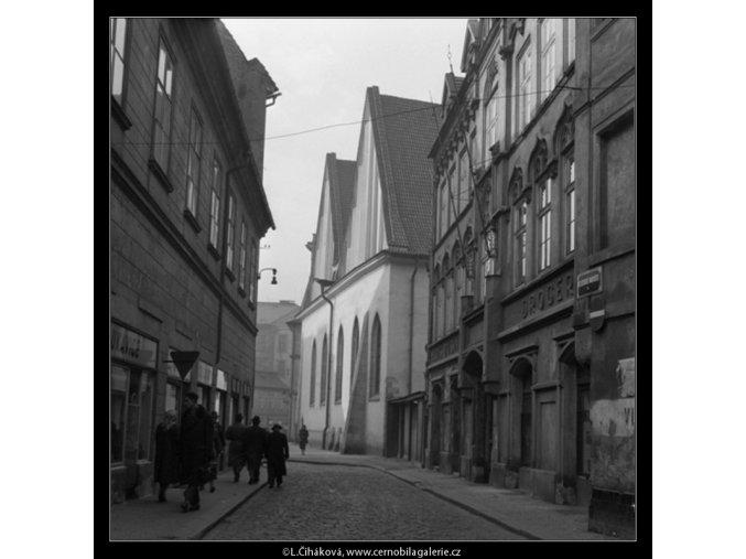 Betlémská ulice (481-3), Praha 1959 , černobílý obraz, stará fotografie, prodej