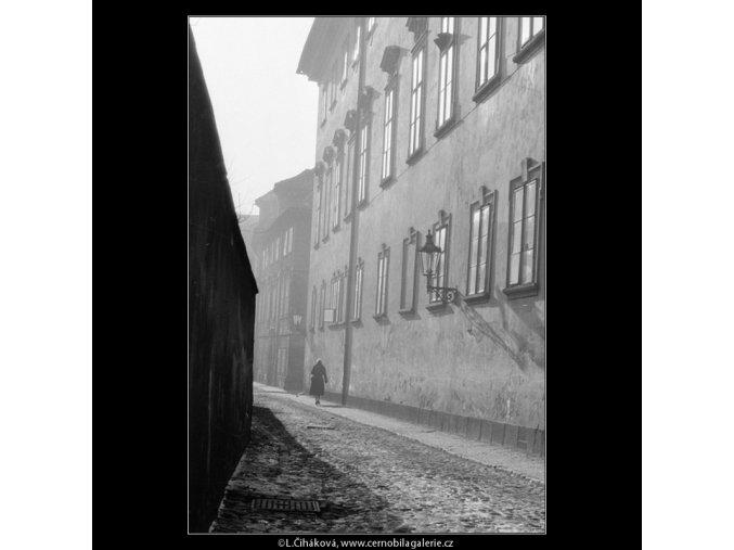 Nosticova ulice (728), Praha 1959 , černobílý obraz, stará fotografie, prodej