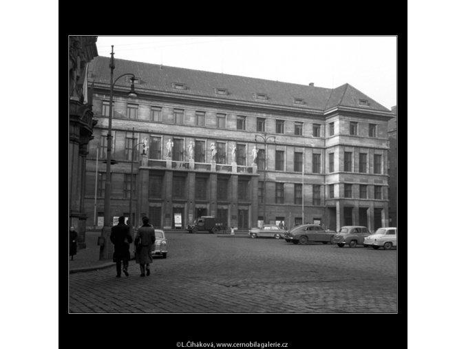 Městská lidová knihovna (151), Praha 1958 , černobílý obraz, stará fotografie, prodej