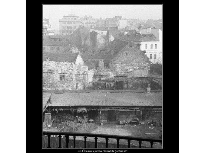Na Františku (541-1), Praha 1960 , černobílý obraz, stará fotografie, prodej