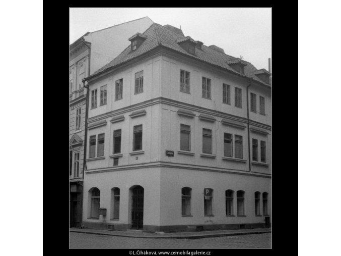 Památný dům (596), Praha 1960 duben, černobílý obraz, stará fotografie, prodej