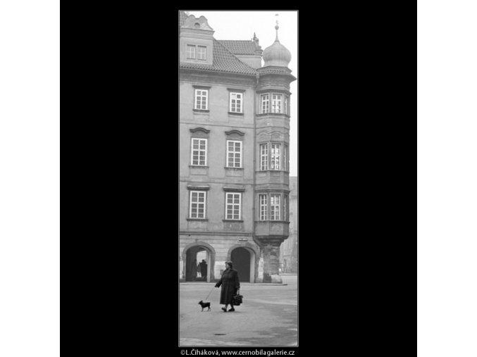 Malé náměstí (951), Praha 1960 říjen, černobílý obraz, stará fotografie, prodej