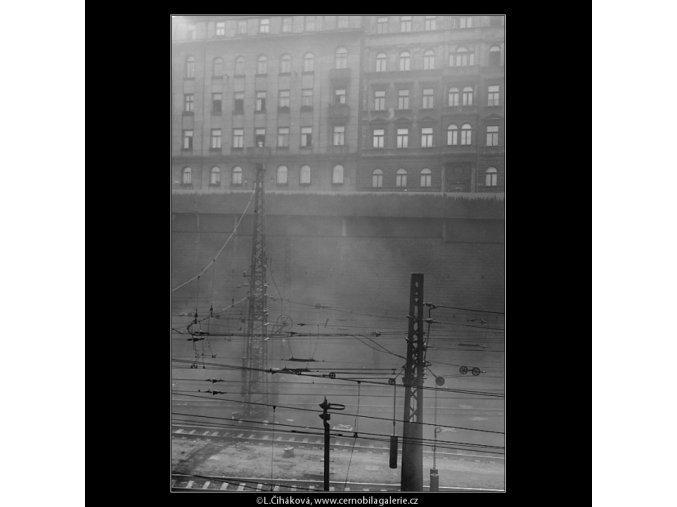Hlavní nádraží (1199), žánry - Praha 1961 srpen, černobílý obraz, stará fotografie, prodej
