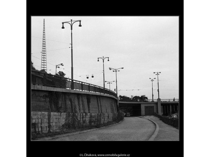 Předmostí (1225-4), žánry - Praha 1961 srpen, černobílý obraz, stará fotografie, prodej
