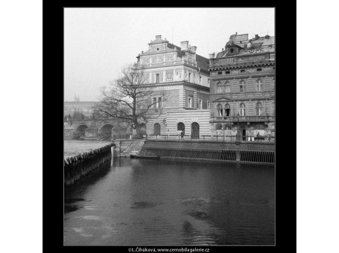 Smetanovo muzeum (1095), Praha 1961 březen, černobílý obraz, stará fotografie, prodej