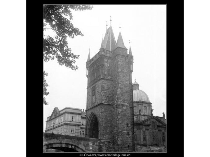 Staroměstská věž (1254-5), Praha 1961 , černobílý obraz, stará fotografie, prodej