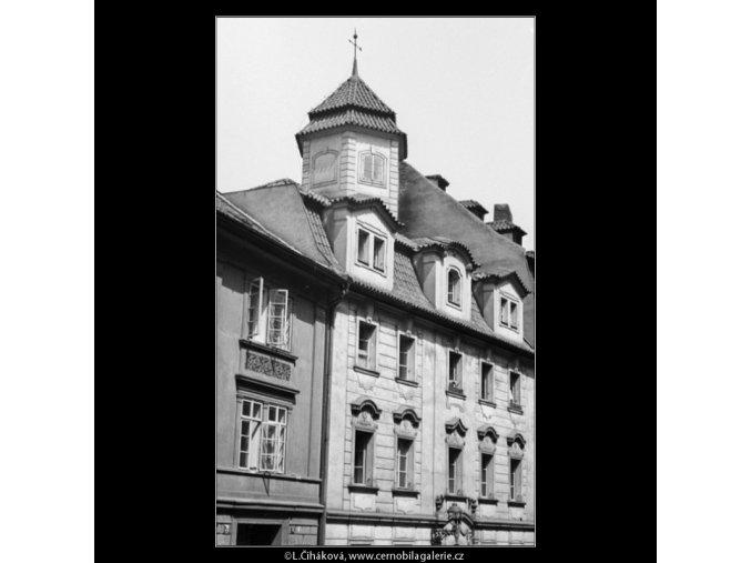 Z Uhelného trhu (1266-1), Praha 1961 , černobílý obraz, stará fotografie, prodej