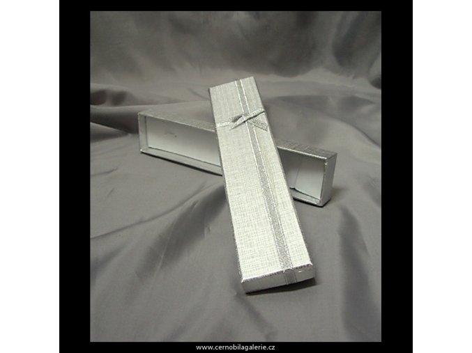 Krabička silver mašle