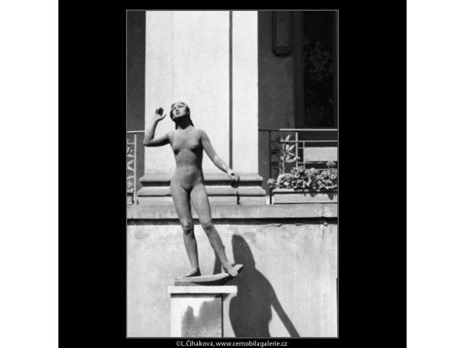 Plastika (1744), Praha 1962 červenec, černobílý obraz, stará fotografie, prodej