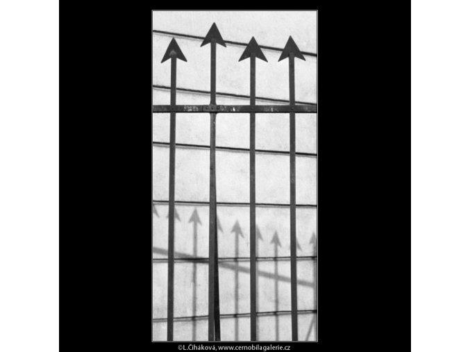 Mříž (1946-2), Praha 1962 prosinec, černobílý obraz, stará fotografie, prodej
