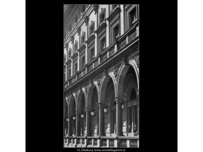 Postranní trakt (1804-1), Praha 1962 září, černobílý obraz, stará fotografie, prodej