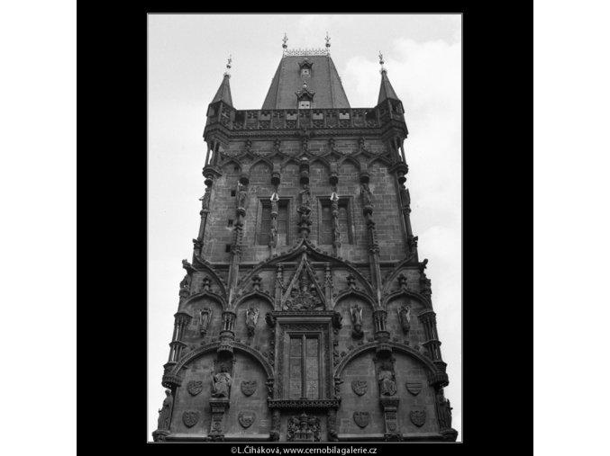 Prašná brána (2123-16), Praha 1963 , černobílý obraz, stará fotografie, prodej