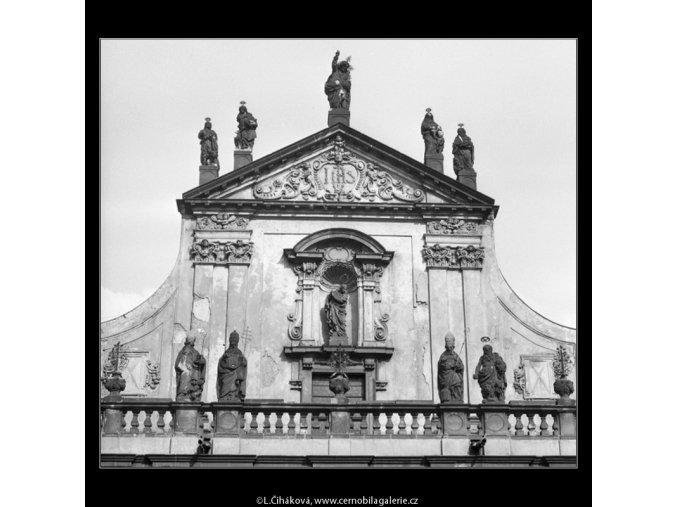 Kostel sv.Salvátora (2141), Praha 1963 duben, černobílý obraz, stará fotografie, prodej