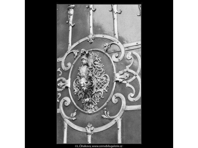 Klepadlo kostela sv.Mikuláše (2186-5), Praha 1963 květen, černobílý obraz, stará fotografie, prodej