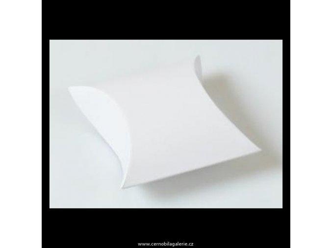 Krabička pukačka II bílá