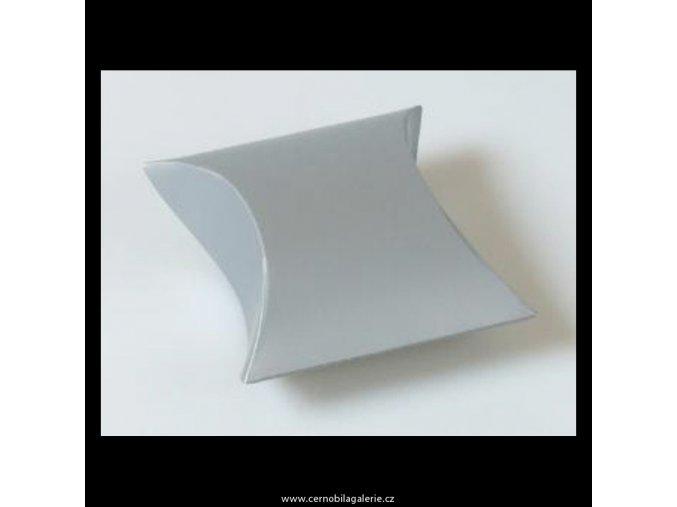 Krabička pukačka II stříbrná