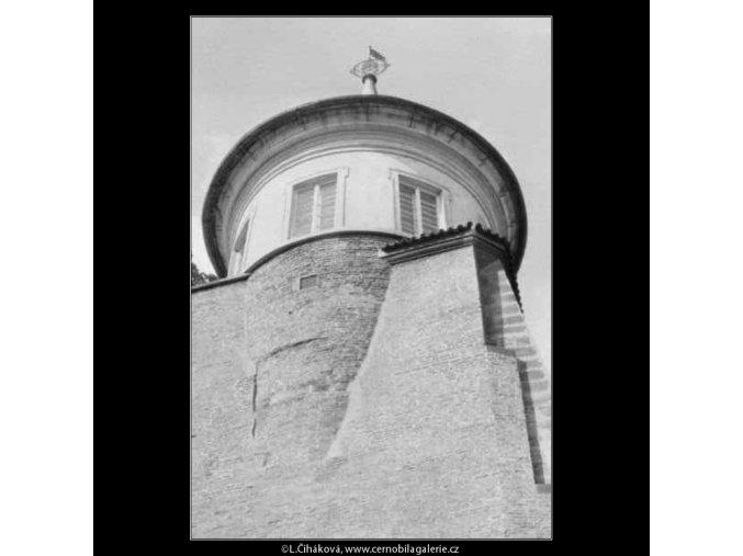 Hradní věžička (2332-2), žánry - Praha 1963 srpen, černobílý obraz, stará fotografie, prodej