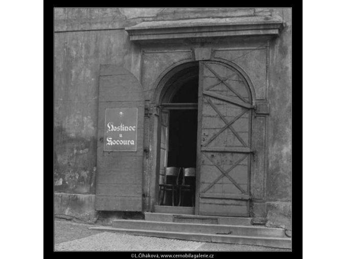 Hostinec U kocoura (2434-3), žánry - Praha 1963 září, černobílý obraz, stará fotografie, prodej